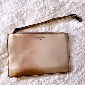 NWOT VICTORIA SECRET WRISTLET PINK METALLIC
